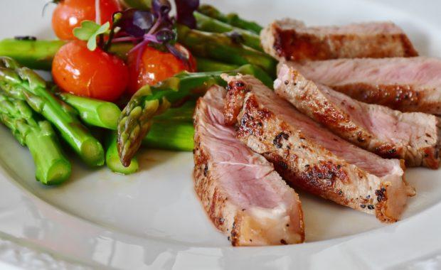 Paleo Meal - Steak and Vegetables
