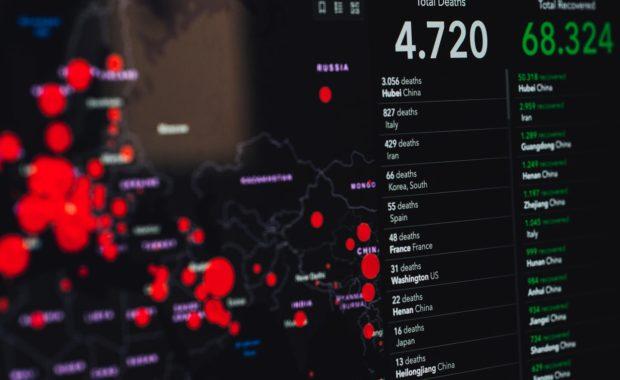 COVID-19 Updates - Statistics on Screen