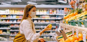 COVID-19: Wear a Mask Grocery Shopping
